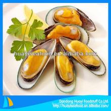 frozen vacuum mussel meat
