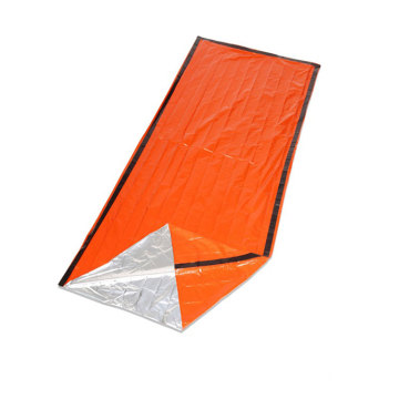 Outdoor Camping And Hiking Sun Protection PE Aluminum Film Tent Emergency First Aid Sleeping Bag