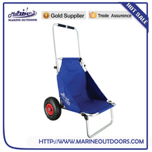 Aluminum dolly, Practical beach trolley, Foldable fishing cart
