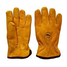 Top-Cowhide-Winter-Sicherheit Warme Handschuhe für Riggers