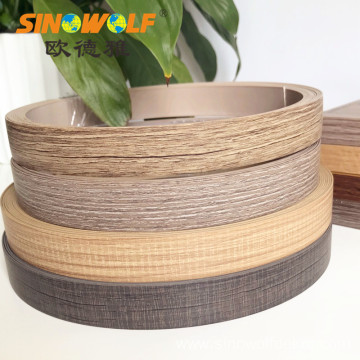 Furniture Cabinet ABS Woodgrain Edge Banding Edge Tape