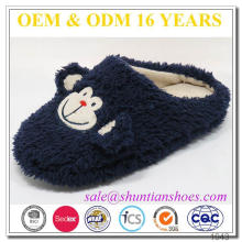 Lovely Embroidery Big Head Children Slipper From China
