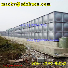 1x1m, 1.22x1.22m, 1x0.5m panels HDG galvanized combined steel water storage tank for farming