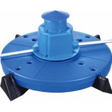 2HP, 1, .5KW, aireadores de hinchamiento, aireador para estanques, equipo de piscifactoría, aireador profesional para estanques de peces