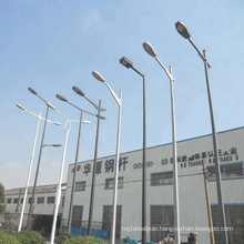 LED power steel material square type decorative street lighting pole and lamp post