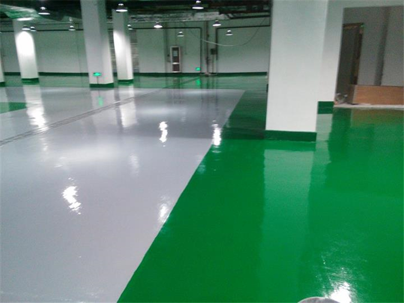 Epoxy sealer concrete