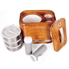 Boîte à lunch ABS 4.8L avec intérieur en acier