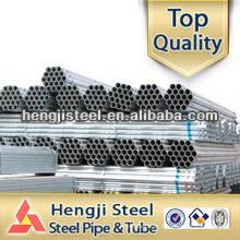 Círculo redondo galvanizado fabricação de tubos de aço