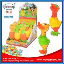 Gummiente Hahn Ostern Huhn Spielzeug mit Süßigkeiten