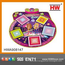 Brinquedo super elétrico do esporte da almofada da dança da estrela para miúdos