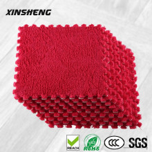 High quality EVA children soft play sponge rubber puzzle interlocking living room floor mat, anti-slip entrance carpet mat