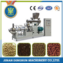 twin screw extruder pet food production line