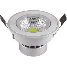 5W COB 220V plafonnier LED blanc