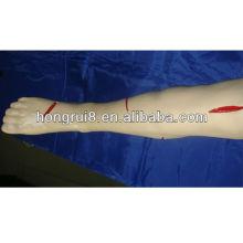 Perna de treinamento de sutura cirúrgica avançada ISO, modelo de sutura