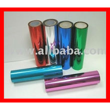 Metallisierte PET-Folie / Aluminium-Metallic-Folie / bunte Twist-Folie