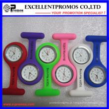 Venda quente bom relógio de enfermeira do clipe de silicone de qualidade (EP-W58409)