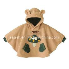 Cute Coral Toison Couvertures Bébé Couture Patterns 3D Baby Cloak
