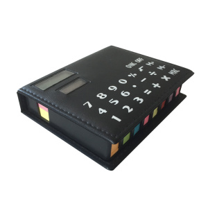 8-Digits Notepad Calculator with Colorful Memo Pad