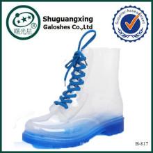 зимние поло сапоги для женщин высокое качество свободного покроя обувь стиль B-817