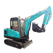 Super Mini Excavadora 3 Ton Backhole Hydraulic For Sale Malasia Garden Digger