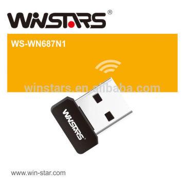 Mini Wifi Dongle.150Mbps Wireless Lan Card, Wireless-N Adaptador USB 2.0, CE, FCC