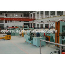 Máquina de corte longitudinal de bobina de acero