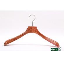 High-End Widen Shoulder Solid Wooden Hanger Hanger