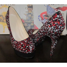fashion Wedding High Heel Diamonds Shoes (HCY02-1488)
