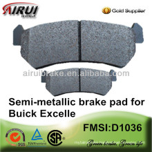 D1036-7939 OE quality brake pad for Japanese car(OE NO.:96405131)