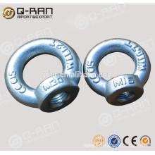 Tuerca de ojo de acero forjado DIN582 de carbono de Hardware Marina