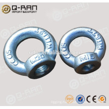 Marine Hardware Carbon Steel Forged DIN582 Eye Nut