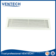 Removable core bar grille,linear air grille