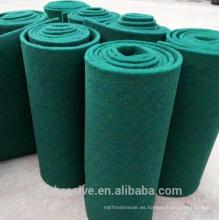 Estropajo de color verde en rollo, rodillo de estropajo en venta