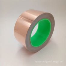 Self Adhesive Conductive Foil Tapes  Permanent Boding Electrical Safety Barrier Copper Foil Tape