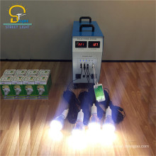 Waterproof Long Lifespan led mini solar light kits With Phone Charge