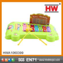 Engraçado bebê musical brinquedo piano mini crianças brinquedos de plástico instrumentos musicais