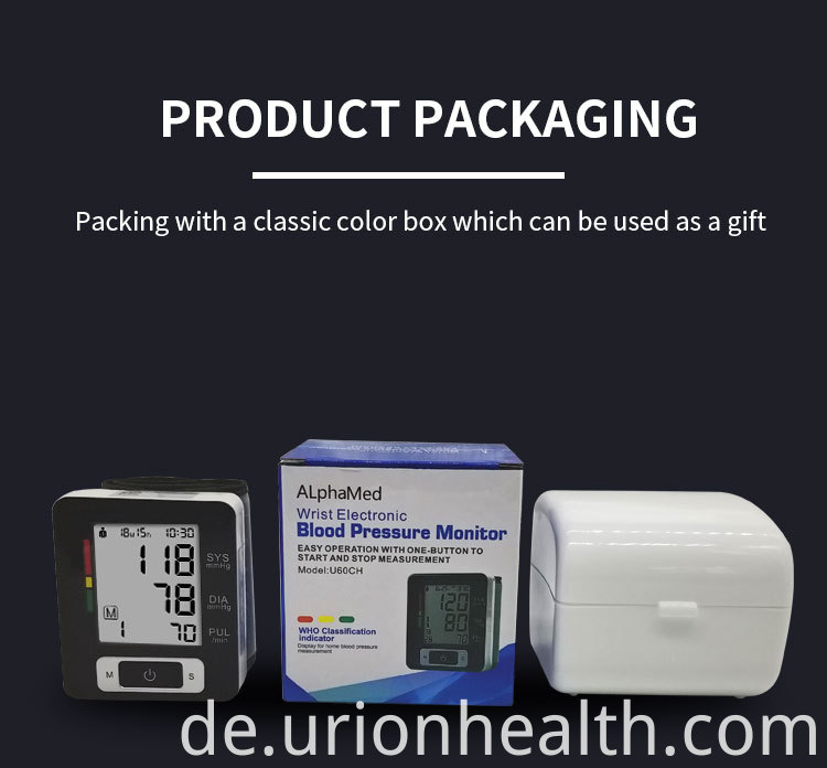 LCD Blood Pressure Monitor
