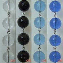Chaînes de perles de cristal gros chaud