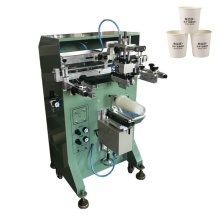 Machine printing on paper cups 300A