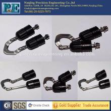 Maßgeschneiderte CNC-Bearbeitung Teile Angelhaken mechanisch montieren