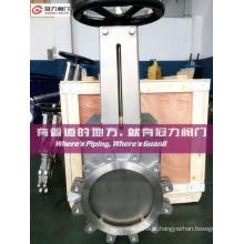 Válvula de porta de aço inoxidável da haste da haste não-ascendente