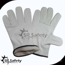 SRSAFETY коровье кожаные рабочие перчатки