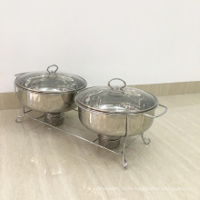 Stainless Steel Lager Table Food Warmer Chafing Dish for Sale Philippines