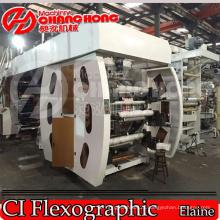 PP (polypropylene) Woven Sacks Flexo Printing Machine (Satellite Type)