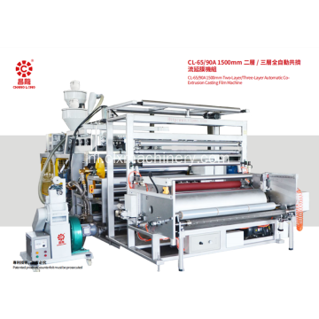 Automatische Co-extrsion Casting Film Machine