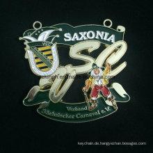 Benutzerdefinierte Znic Legierung Medaille für Saxonia Backen Lack-Medaille-Farbe-Medaille