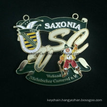 Custom Znic Alloy Medal for Saxonia Baking Varnish Medal Color Medal