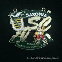 Custom Znic Alloy Medal for Saxonia Baking Varnish Medal Color Medal