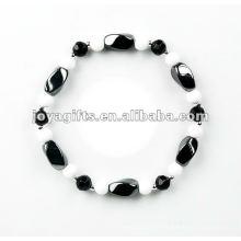 Mode Hämatit Twist Perlen Armband