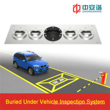 Whole Image Display Monitor High-Resolution Under Vehicle Inspection System